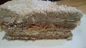 сыроедный кокосовый торт