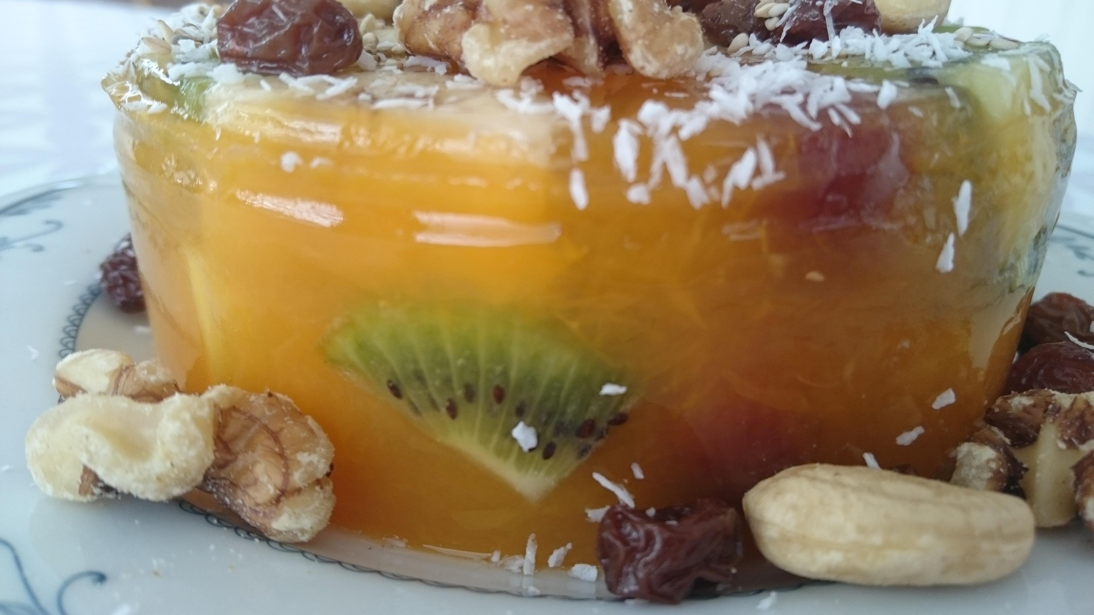 Фантастический желейный десерт из фруктов