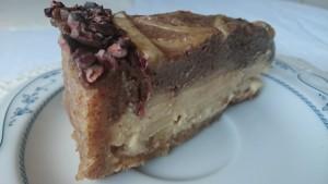 сыроедный шоколадный торт