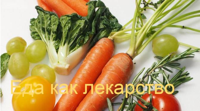 Анонс электронной книги «Еда как лекарство» или, что я поняла в питании?