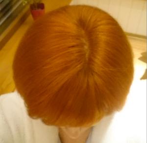 окраска волос хной